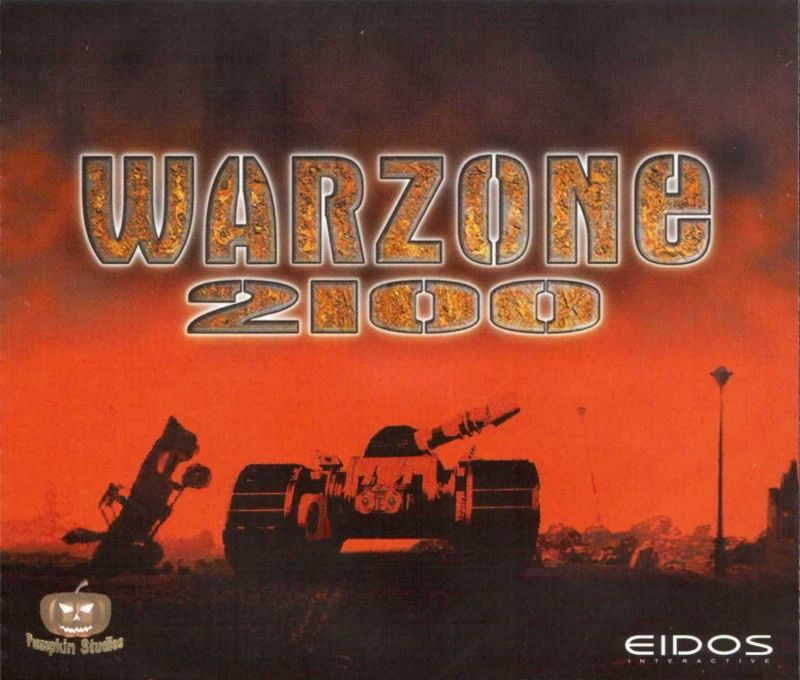 Warzone 2100 Windows Other Jewel Case - Front Cover