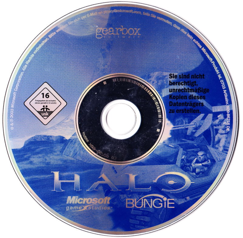 Halo: Combat Evolved Windows Media
