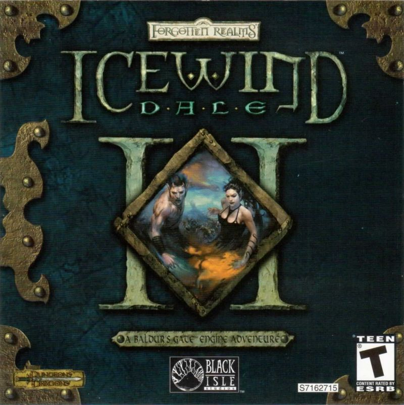 Icewind Dale II Windows Other Jewel Case - Front Cover