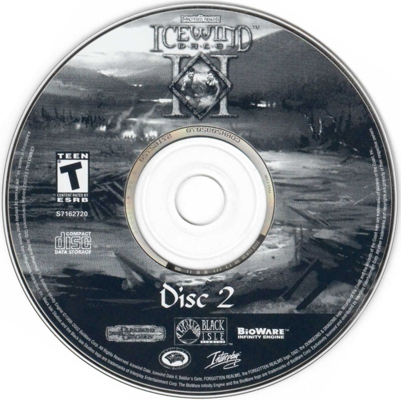 Icewind Dale II Windows Media Disc 2