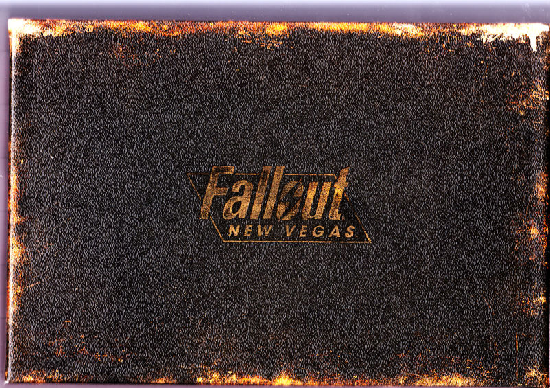 Fallout: New Vegas (Collector's Edition) Xbox 360 Front Cover without sleeve