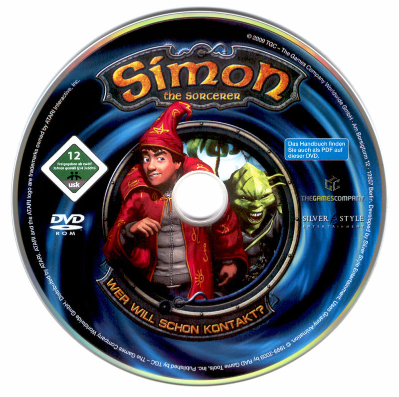 Simon the Sorcerer: Who'd Even Want Contact?! Windows Media