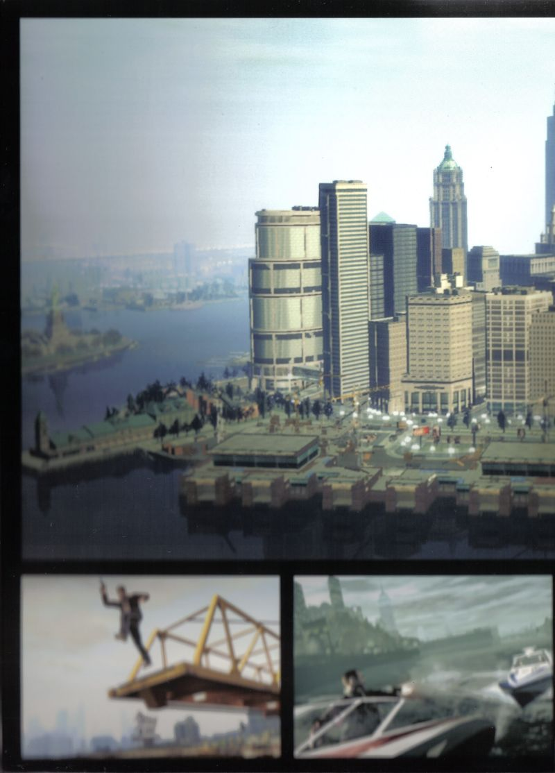 Grand Theft Auto IV Windows Inside Cover Middle
