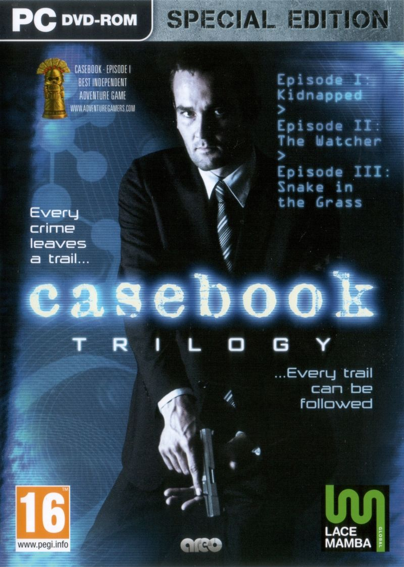Casebook Trilogy: Special Edition Windows Front Cover