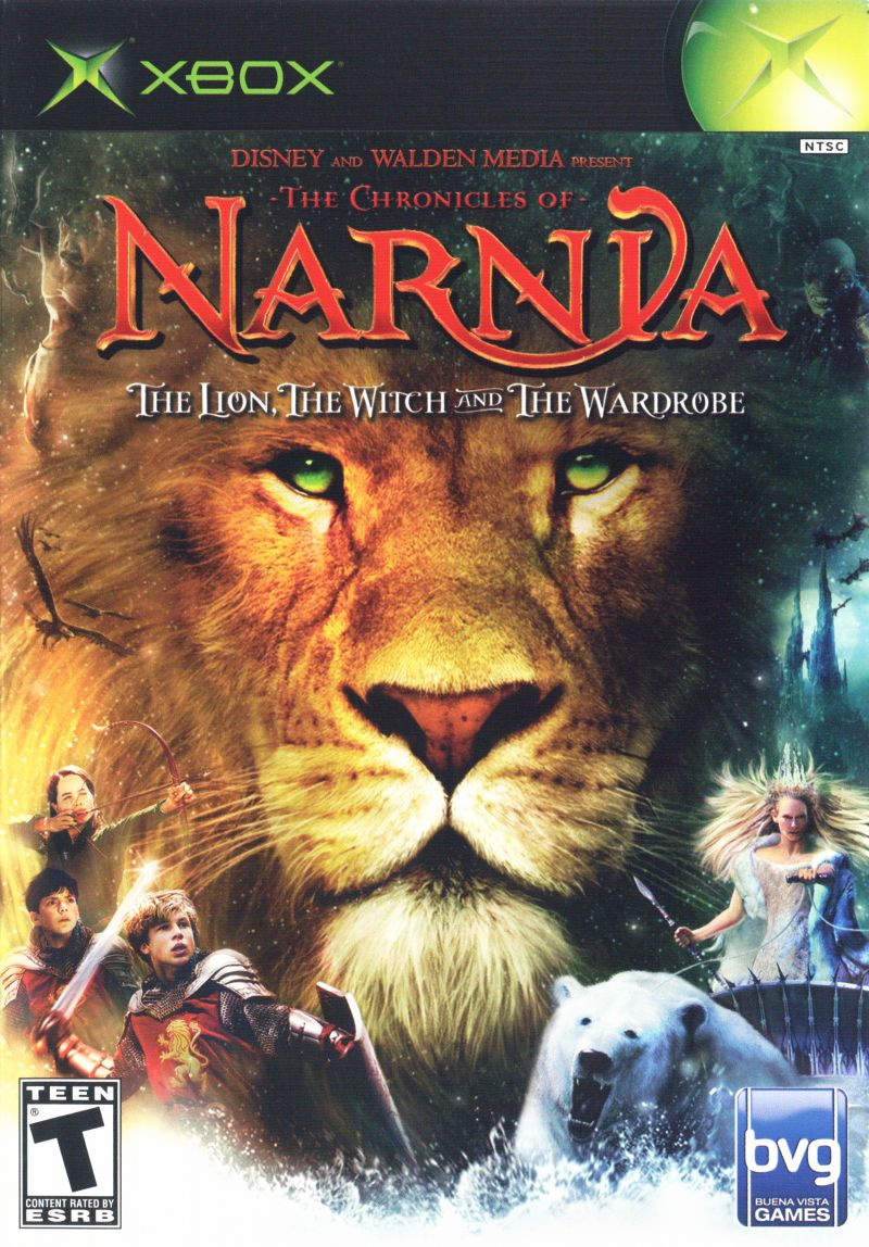 The Chronicles of Narnia: The Lion, the Witch and the Wardrobe Xbox Front Cover