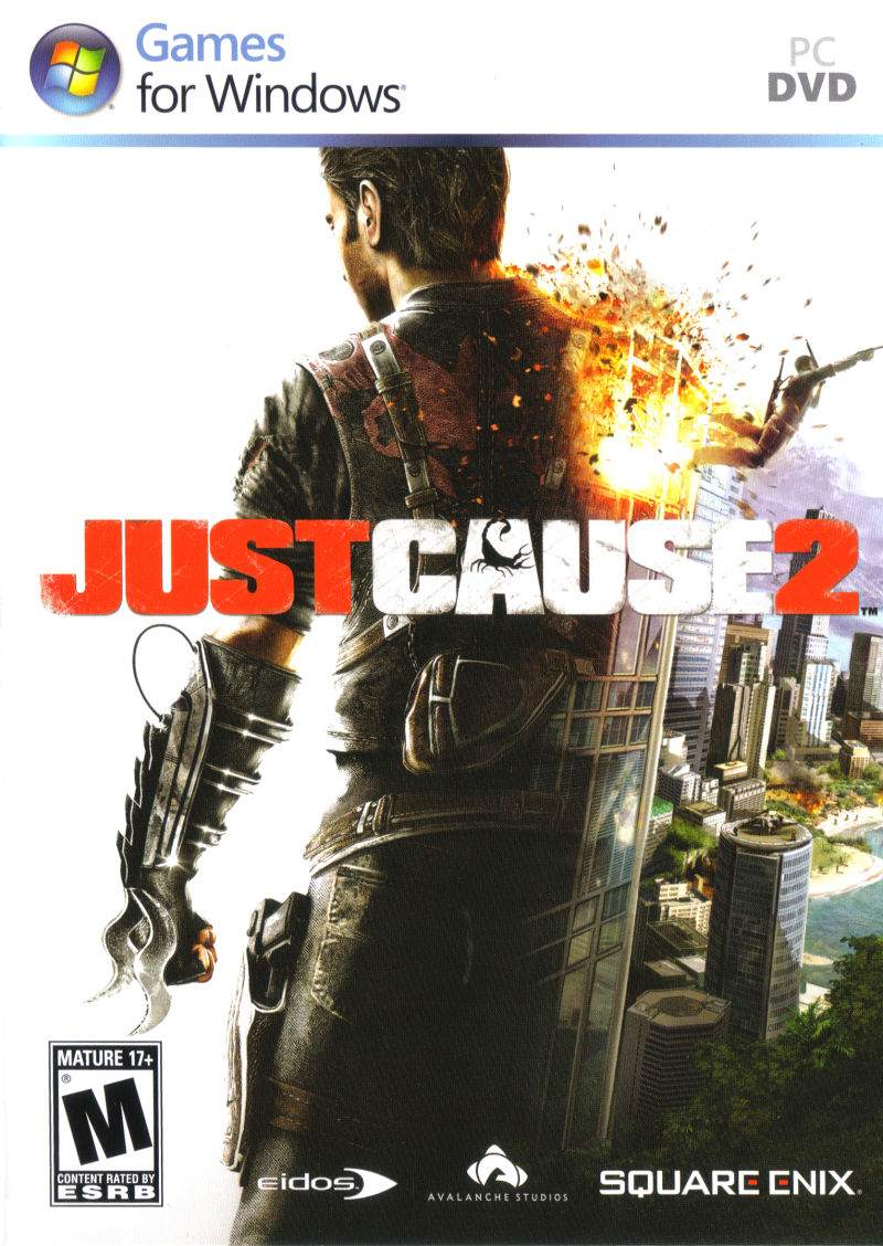 Just Cause 2 Windows Front Cover