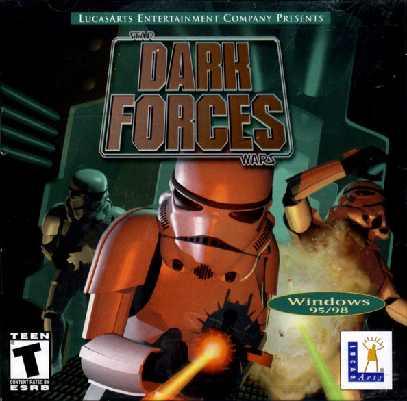 Star Wars: Dark Forces Windows Front Cover