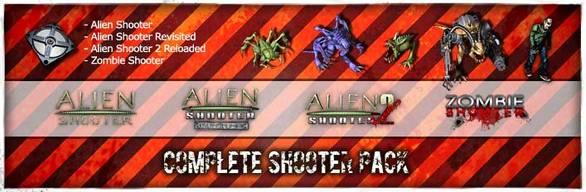 Complete Shooter Pack Windows Front Cover
