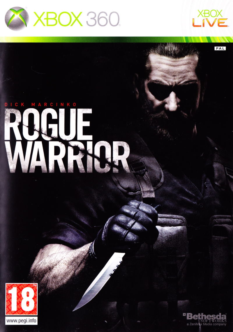 Rogue Warrior Xbox 360 Front Cover