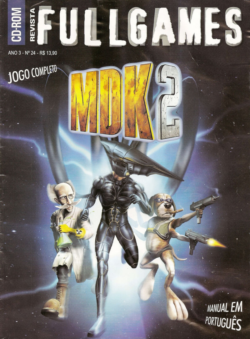 MDK 2 Windows Front Cover