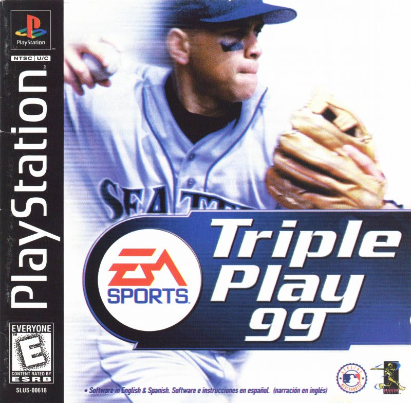 Triple Play 99 PlayStation Front Cover
