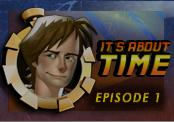 Back to the Future: The Game - Episode 1: It's About Time Macintosh Front Cover