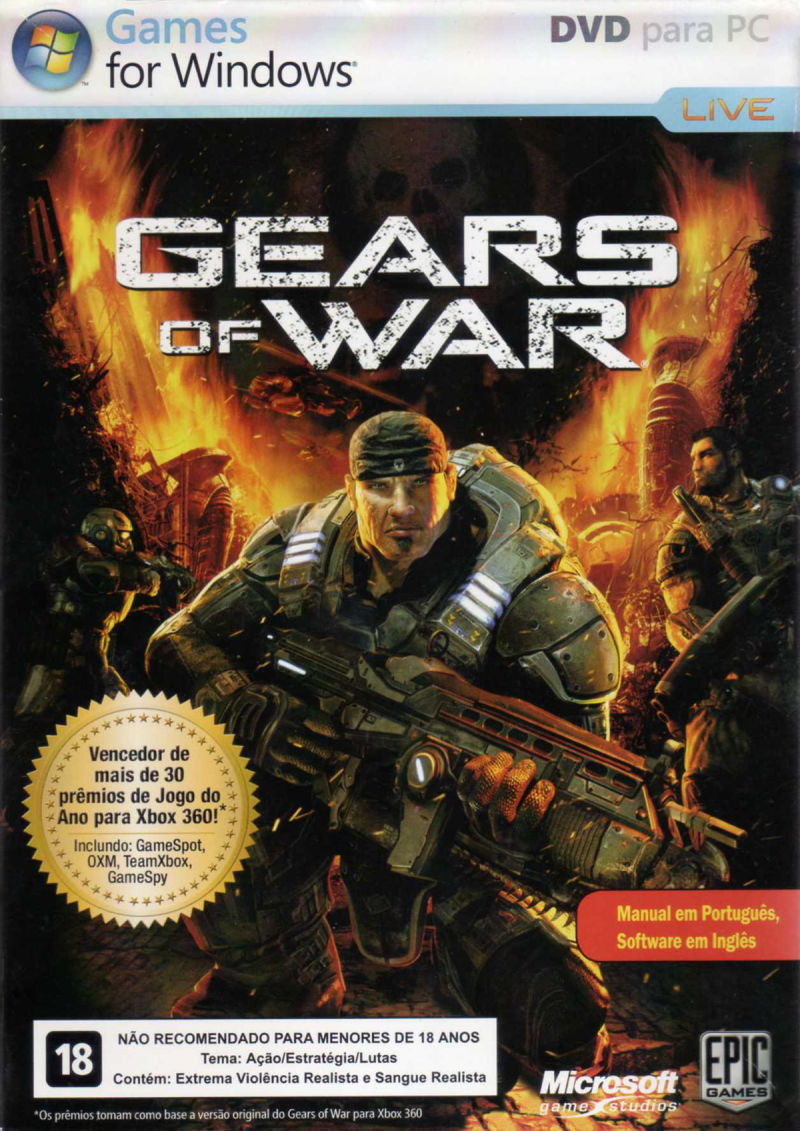 Gears of War Windows Front Cover