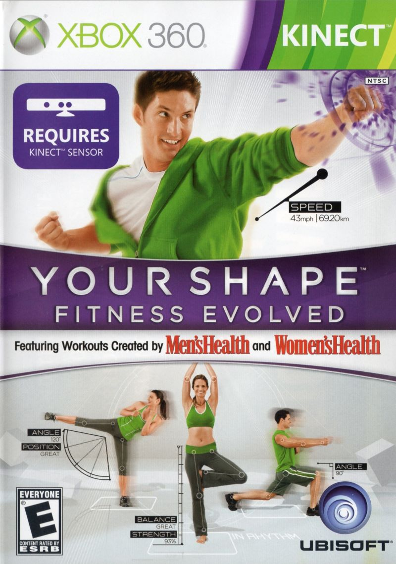 Your Shape: Fitness Evolved Xbox 360 Front Cover