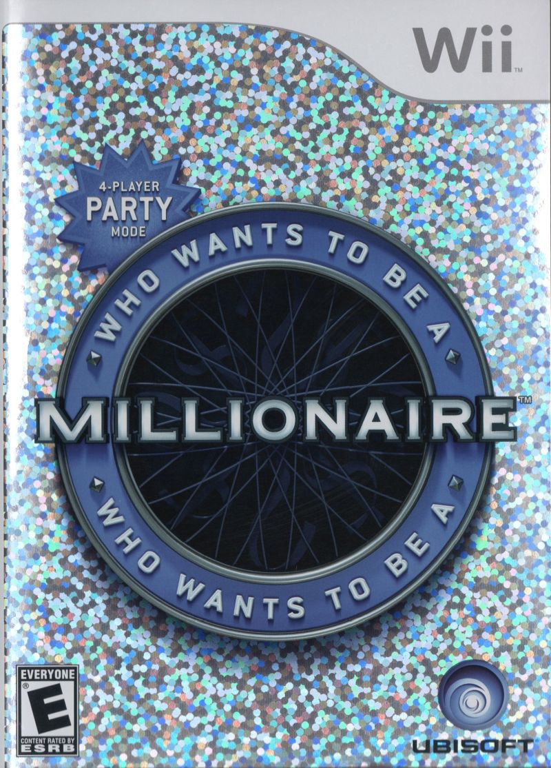 Who Wants to Be a Millionaire Wii Front Cover