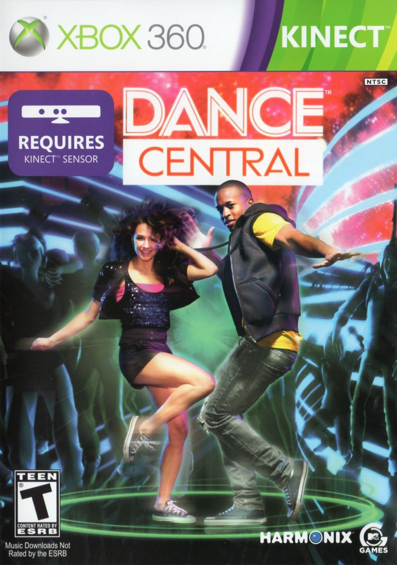 Dance Central Xbox 360 Front Cover