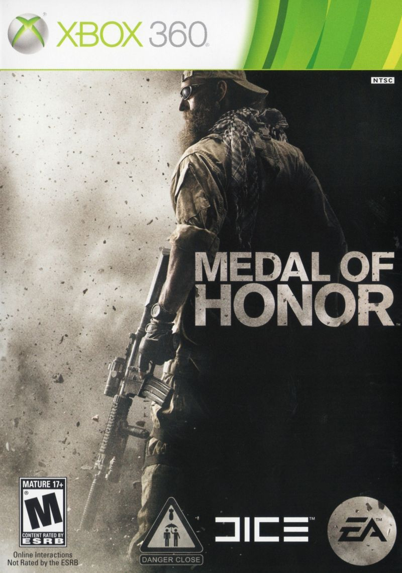 Medal of Honor Xbox 360 Front Cover