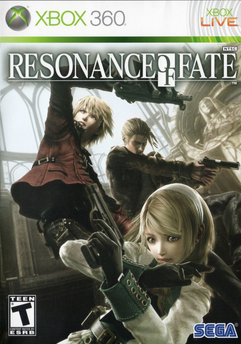 Resonance of Fate Xbox 360 Front Cover