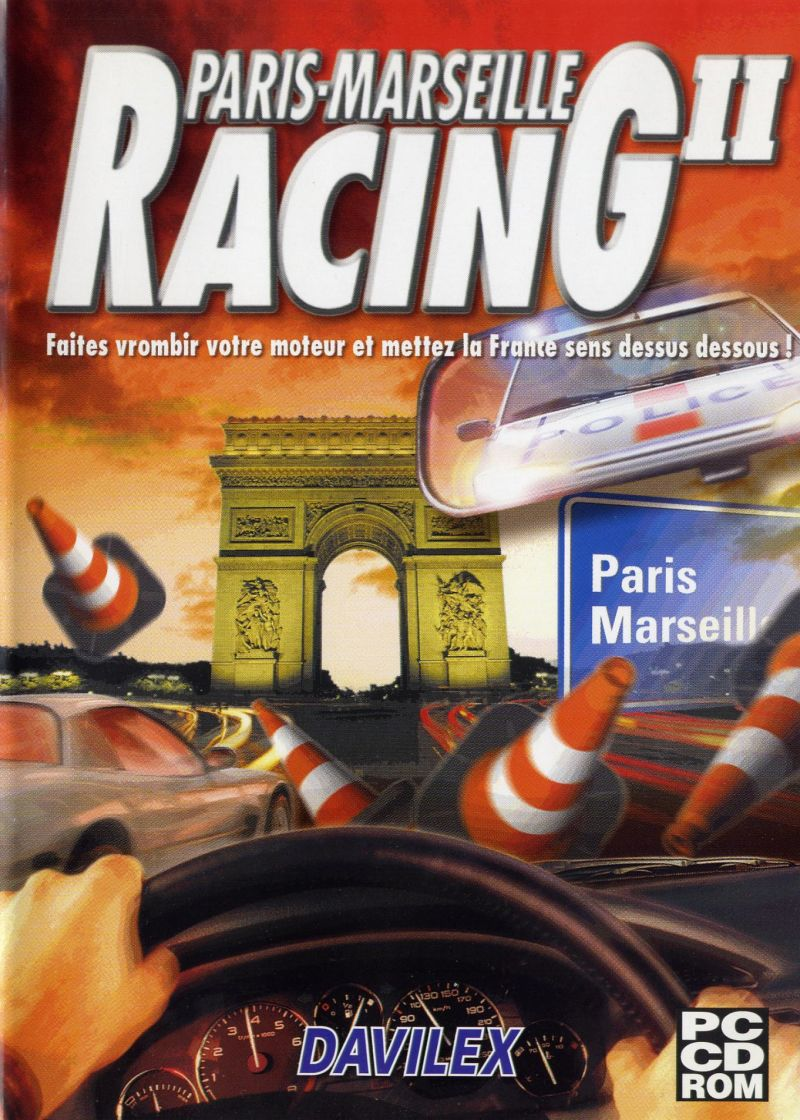 Paris-Marseille Racing II Windows Front Cover