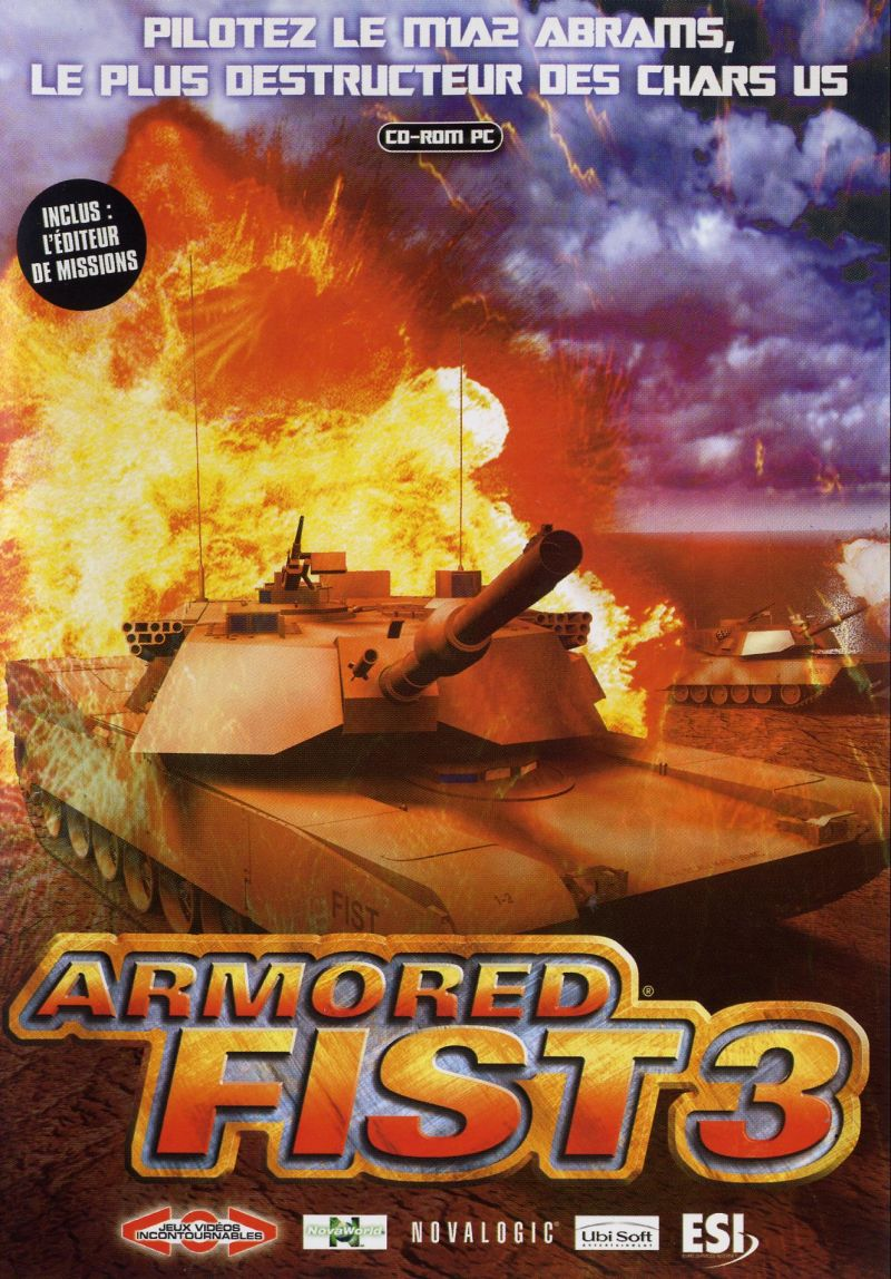 Armored Fist 3 Windows Front Cover