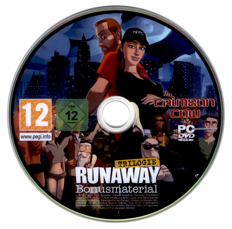 Runaway Trilogy Windows Media Bonus-Disc
