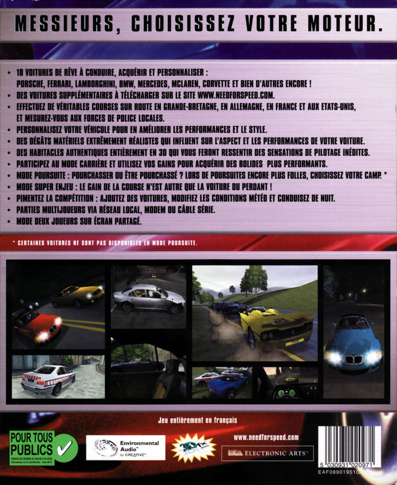Need for Speed: High Stake PC Download Full Game