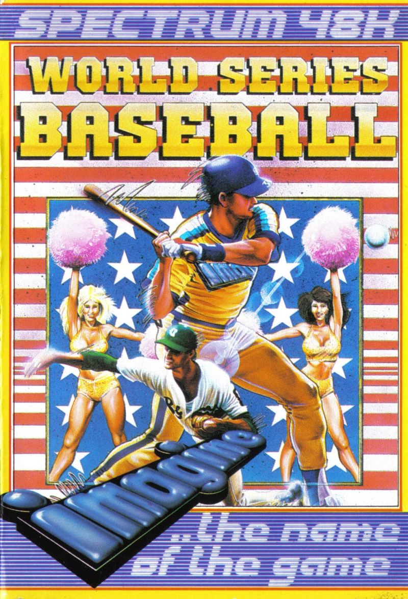 The Slugger ZX Spectrum Front Cover