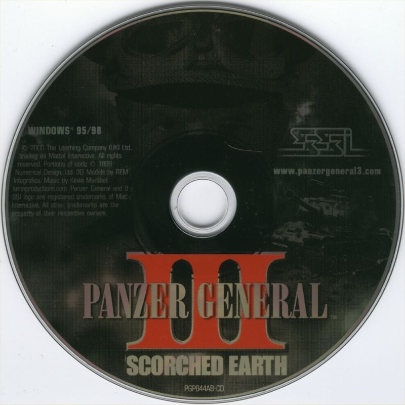 Panzer General III: Scorched Earth Windows Media
