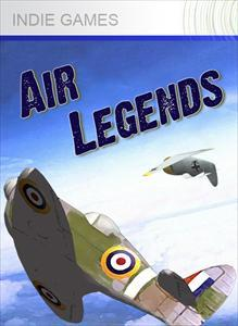 Air Legends Xbox 360 Front Cover