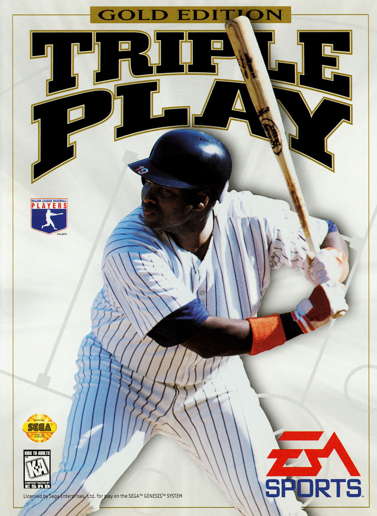 Triple Play: Gold Edition Genesis Front Cover