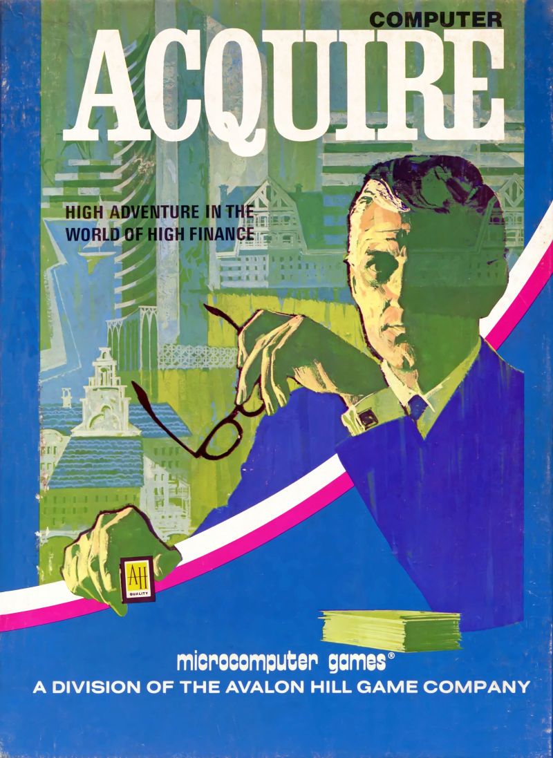 Computer Acquire Apple II Front Cover