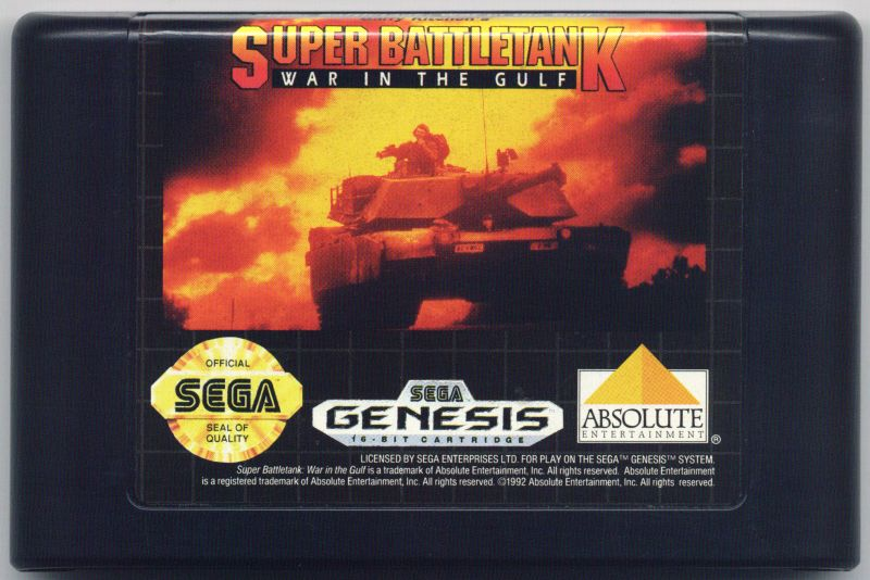 Super Battletank Genesis Media