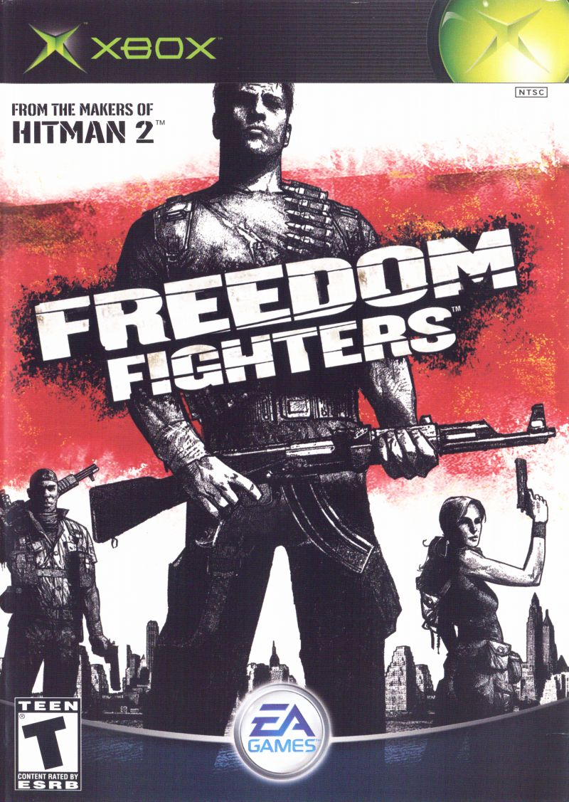 Freedom Fighters Xbox Front Cover