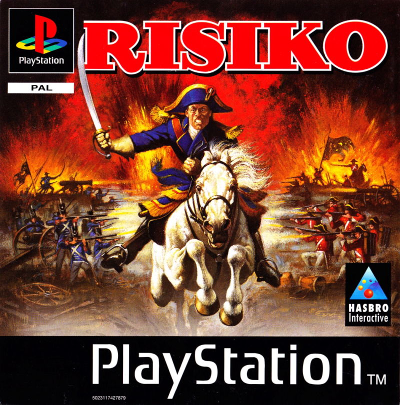RISK: The Game of Global Domination PlayStation Front Cover