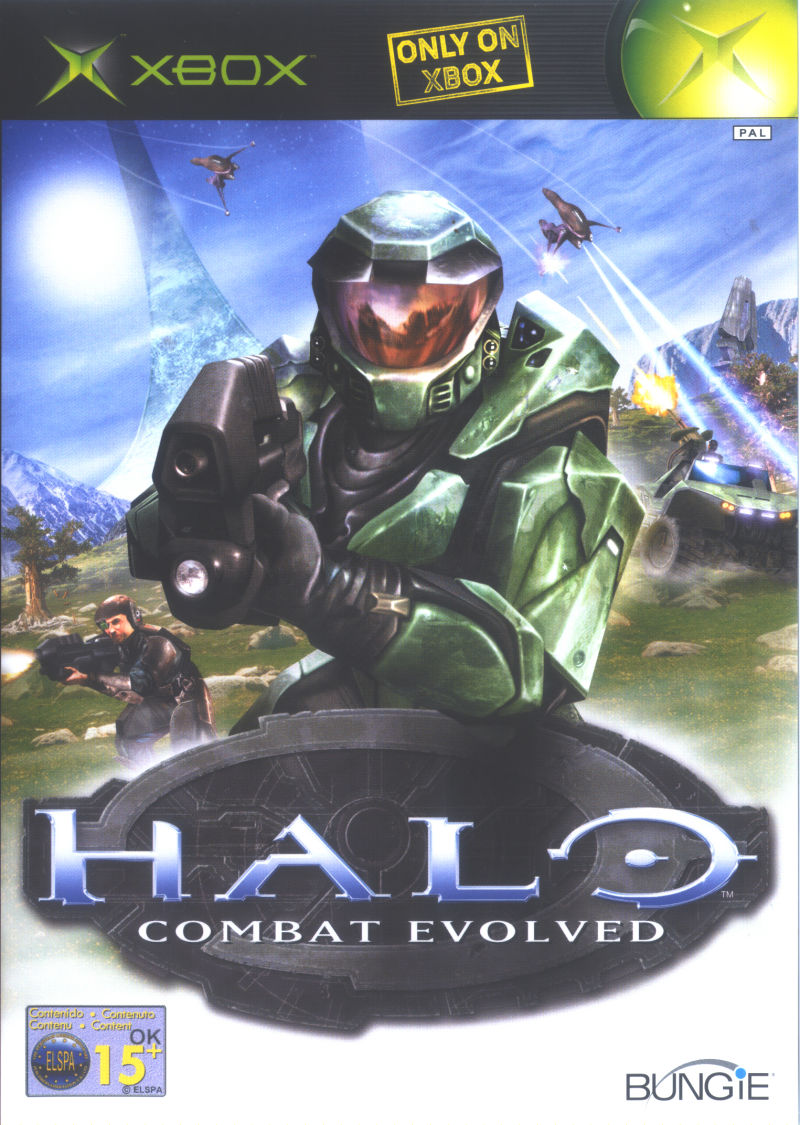 Halo: Combat Evolved Xbox Front Cover