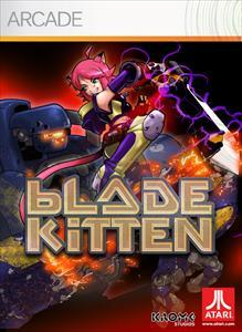 Blade Kitten Xbox 360 Front Cover