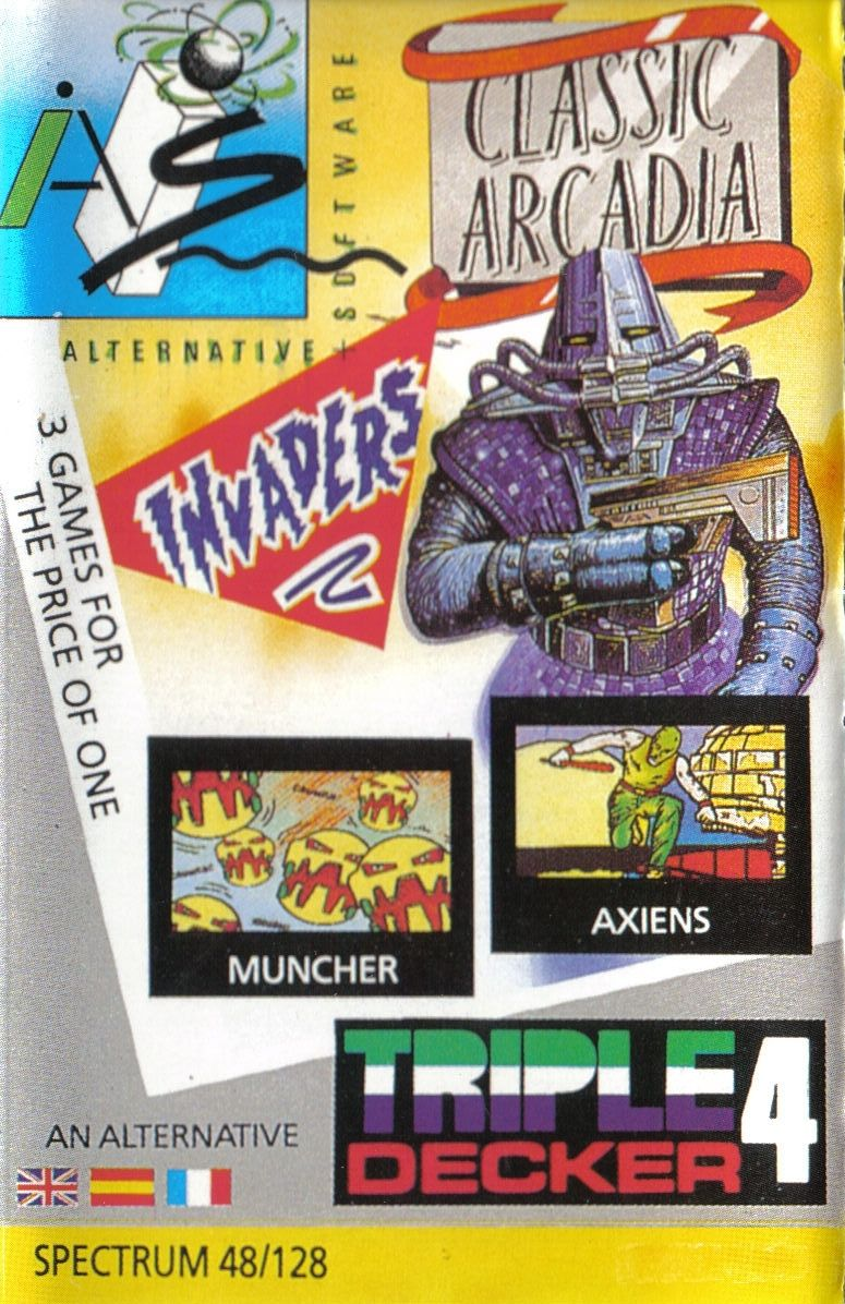 Classic Arcadia ZX Spectrum Front Cover