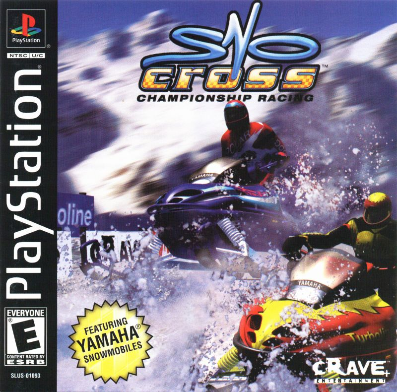 Sno-Cross Championship Racing PlayStation Front Cover