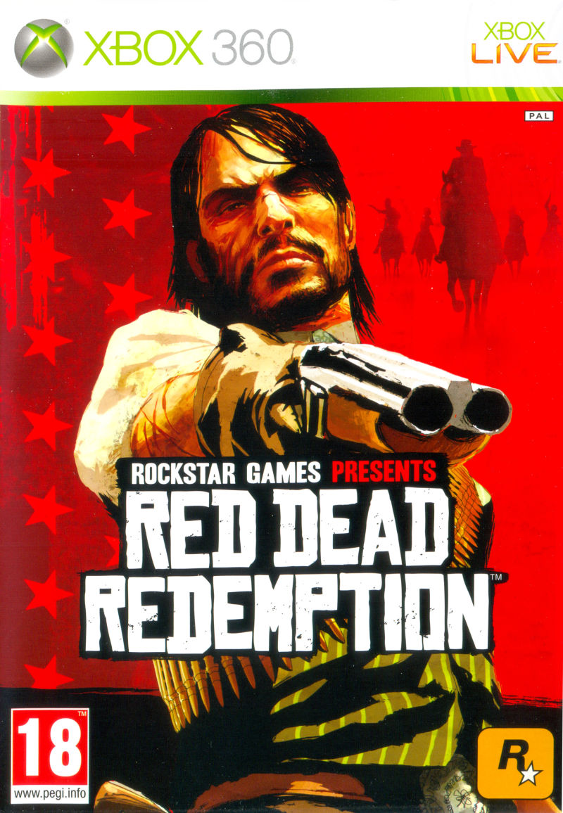 Red Dead Redemption Xbox 360 Front Cover