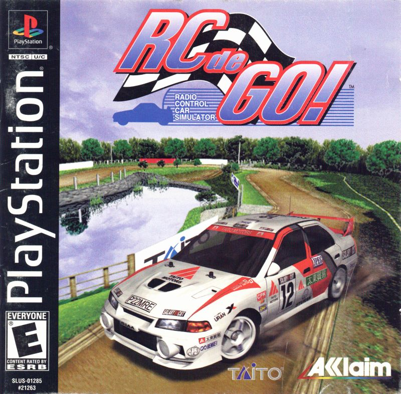 RC de GO! PlayStation Front Cover