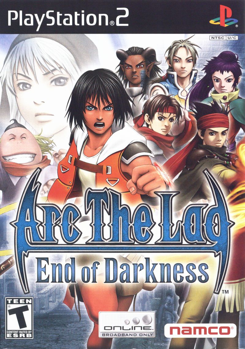 Arc the Lad: End of Darkness PlayStation 2 Front Cover