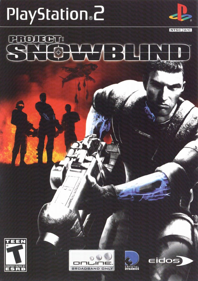 Project: Snowblind PlayStation 2 Front Cover