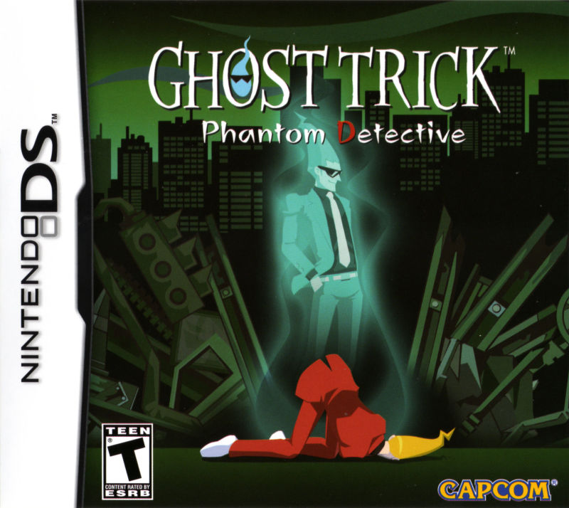 Ghost Trick: Phantom Detective Nintendo DS Front Cover
