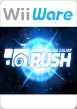 Rubik's Puzzle Galaxy: RUSH Wii Front Cover