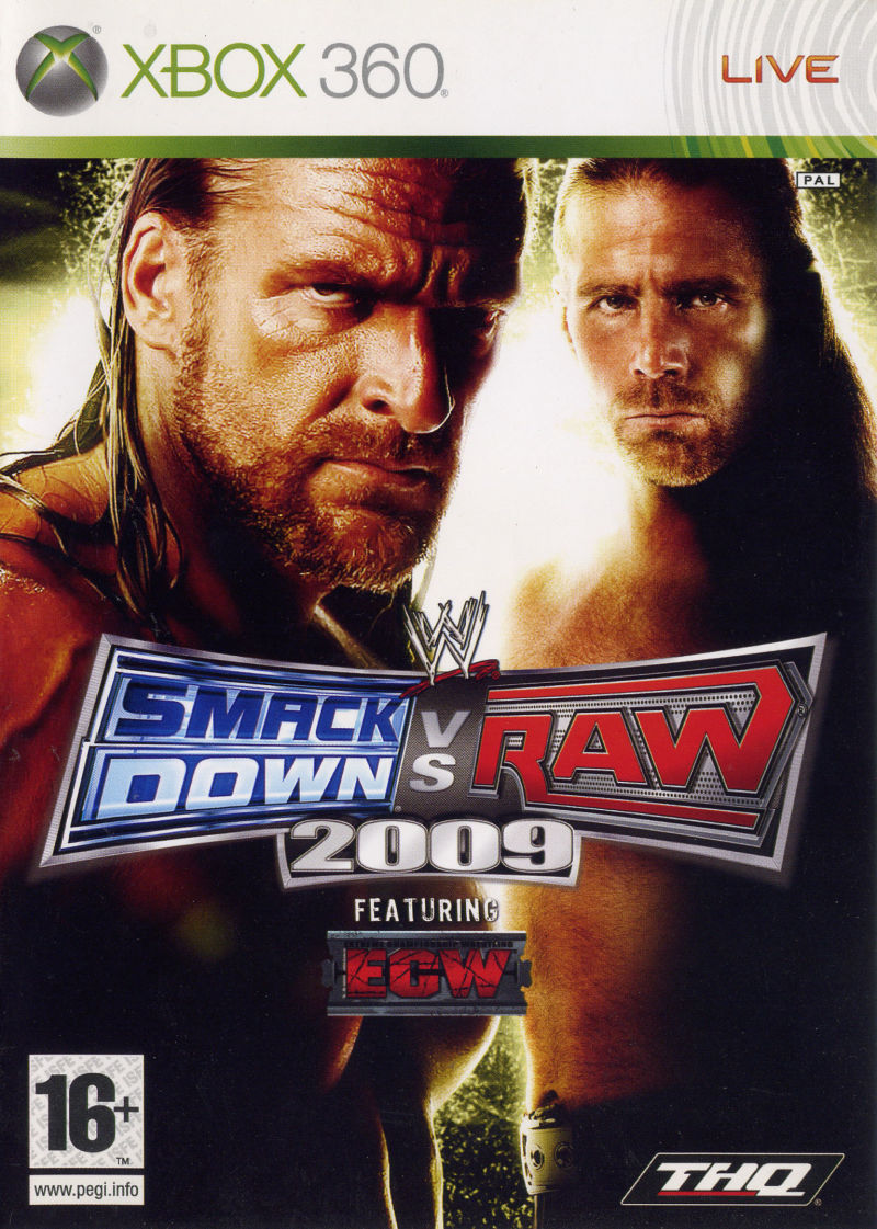 WWE SmackDown vs. Raw 2009 (X-BOX360)