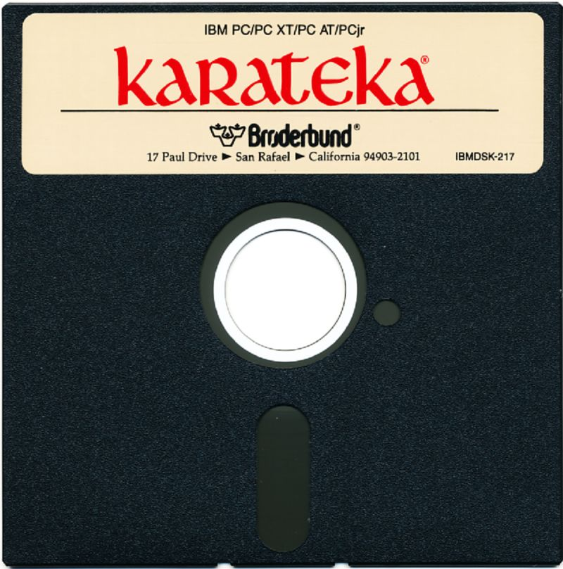 Karateka DOS Media
