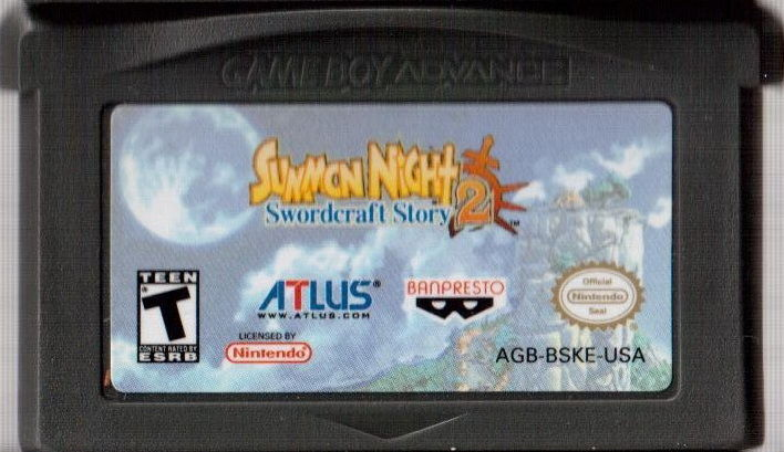 Summon Night: Swordcraft Story 2 Game Boy Advance Media