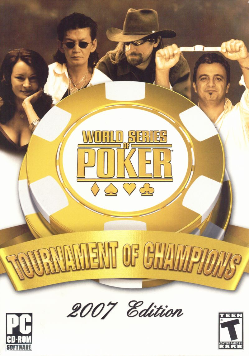 World Series of Poker: Tournament of Champions Windows Front Cover