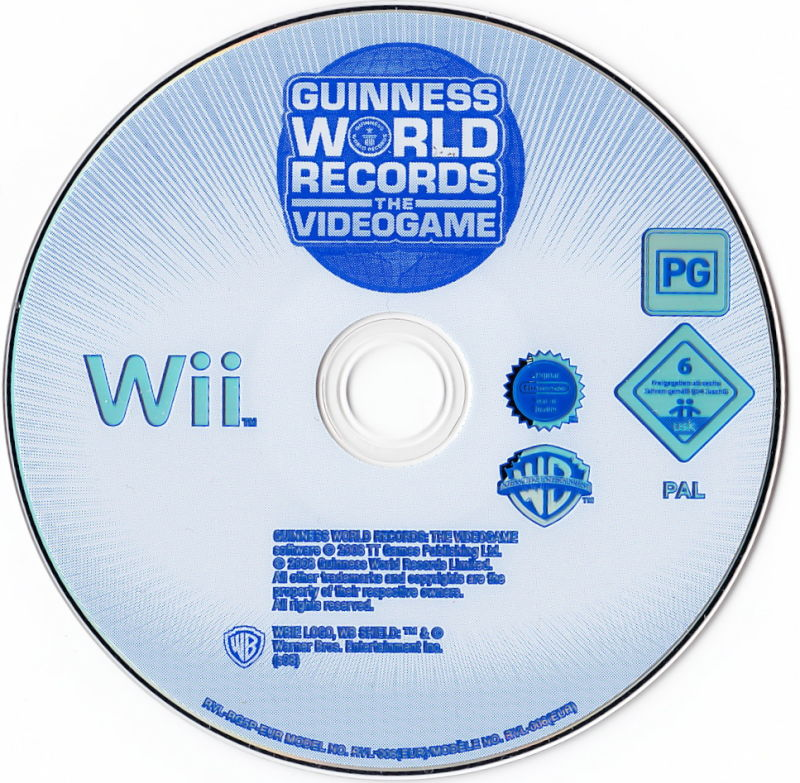 Guinness World Records: The Videogame Wii Media