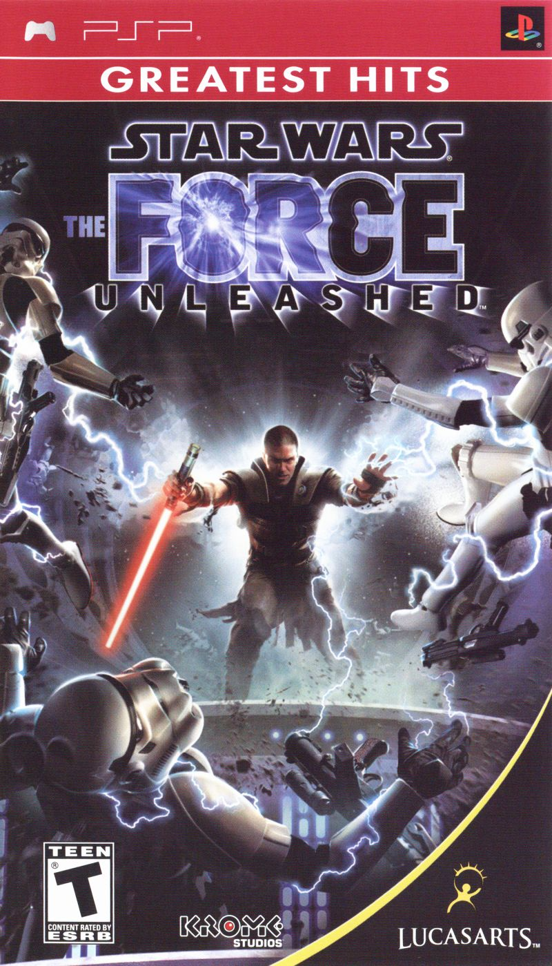 Star Wars: The Force Unleashed PSP Front Cover